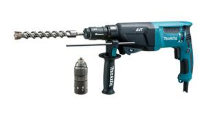 Makita BORE-/MEJSELHAMMER SDS PLUS HR2631FTJ 800 Watt