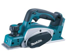 Makita FALSHØVL 82MM 18V LI-ION DKP180Z U/batteri & lader
