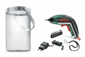 Bosch IXO – solcellelampeudgave