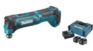 Makita MULTICUTTER 10,8V LI-ION TM30DZ 2 x 4,0 ah batteri