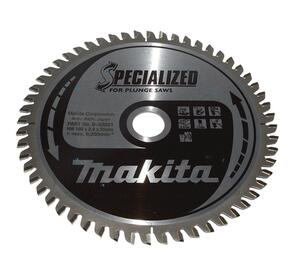 Makita SPECIALIZED HM DYKSAVKLINGE 165x20 mm Alu, 56 tænder