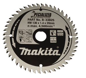 Makita SPECIALIZED HM SAVKLINGE 136X20 mm, 36 tænder
