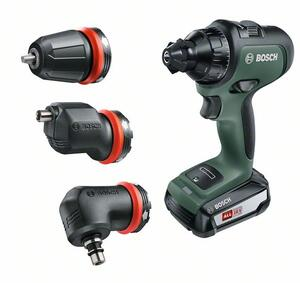 Bosch Bore-/Skruemaskine AdvancedDrill 18 SÆT 2 x 2,5 ah batteri