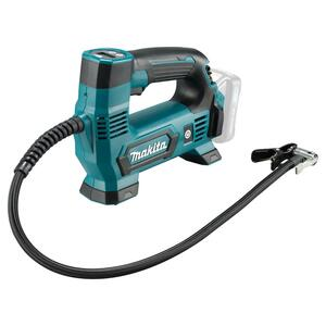 Makita LUFTPUMPE 8 BAR 10,8V MP100DZ U/batteri & lader