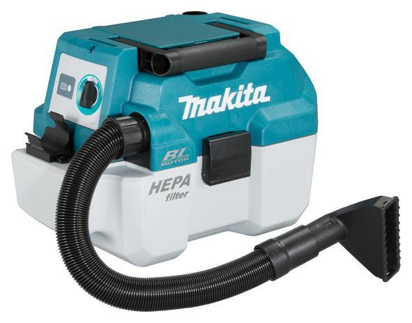 Alle nye Makita STØVSUGER 18V DVC750LZ U/batteri & lader CN06