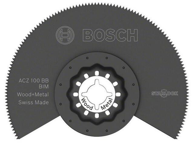Bosch BIM-segmentsavklinge ACZ 100 BB Wood and Metal Starlock