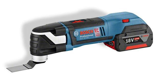 Bosch Akku-Multi-Cutter GOP 18V-28 Professional Starlock plus u/batteri & lader