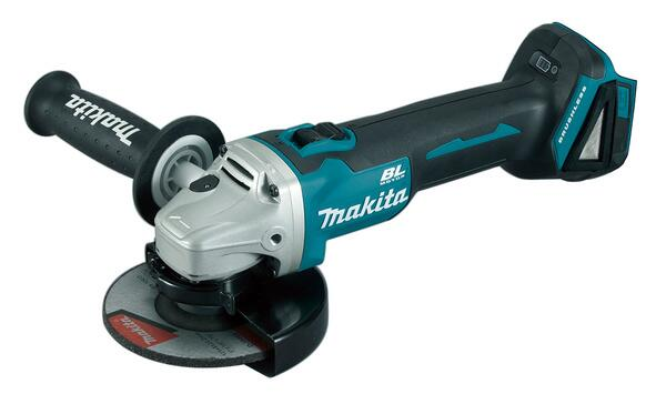 Makita VINKELSLIBER 125MM 18V LI-ION DGA506Z U/batteri & lader