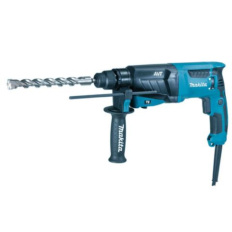Makita BORE-/MEJSELHAMMER SDS PLUS HR2631FJ 800W