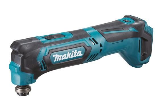 Makita MULTICUTTER 10,8V LI-ION TM30DZ U/batteri & lader