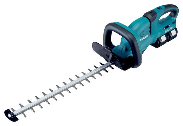 Makita HÆKKEKLIPPER 550MM 2X18V DUH551PF2 2 x 3,0 ah batteri
