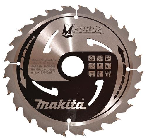 Makita M-FORCE SAVKLINGE 185x30 mm, 24 tænder