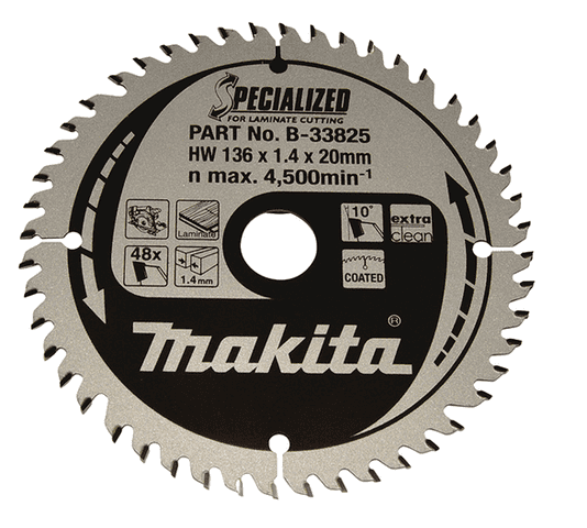 Makita SPECIALIZED TCT SAVKLINGE 165X20 mm Alu, 60 tænder