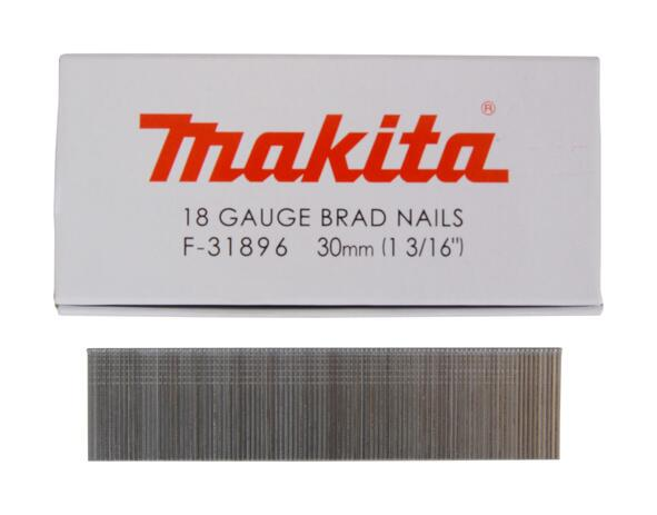 Makita STIFT 18 Ga 1.2 X 30MM GALVANISERET F-31896