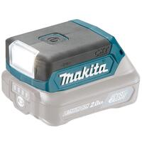 Makita LED LAMPE 10,8V DEAML103 U/batteri & lader