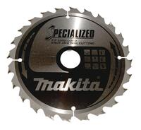Makita SPECIALIZED TCT SAVKLINGE 165X20 mm Træ, 48 tænder