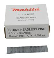 Makita STIFT 23 Ga 0.6 X 25MM RUSTFRI F-32155