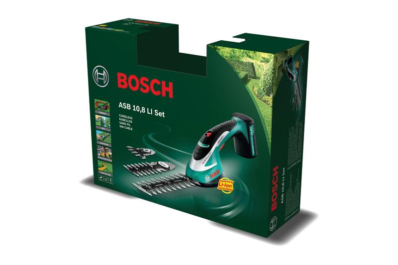 bosch batteridrevet busksaks asb 10 8 li s t. Black Bedroom Furniture Sets. Home Design Ideas